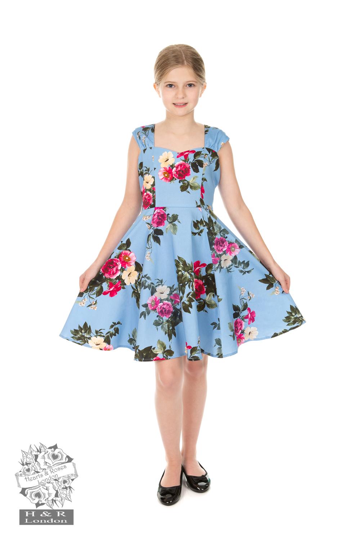 Kids Dresses UK   Floral Dresses For Girls   Vintage Girls Dresses